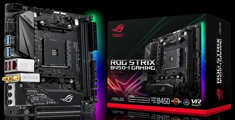ASUS представила Mini-ITX плату ROG Strix B450-I Gaming