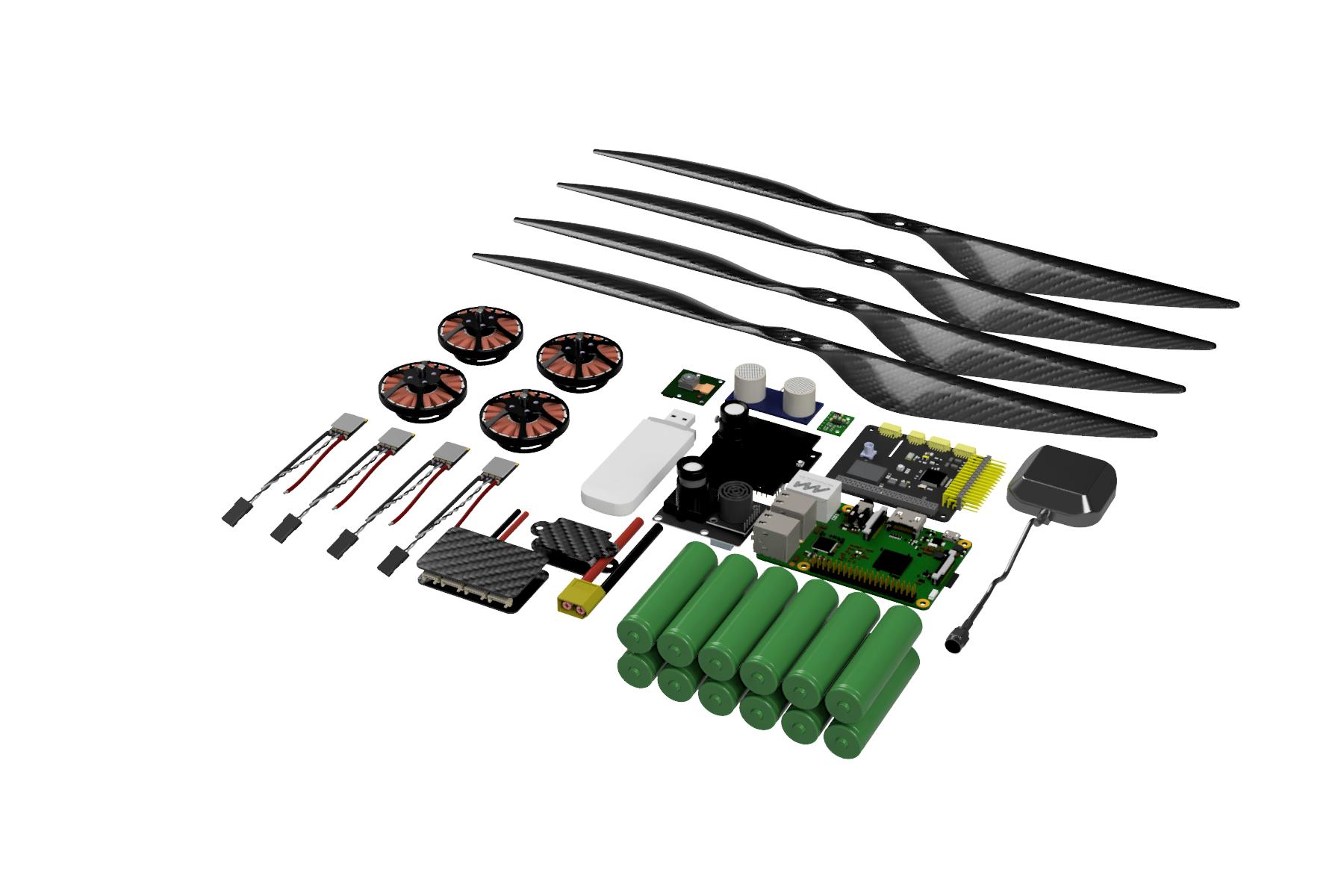 DIY автономный дрон с управлением через интернет - 11