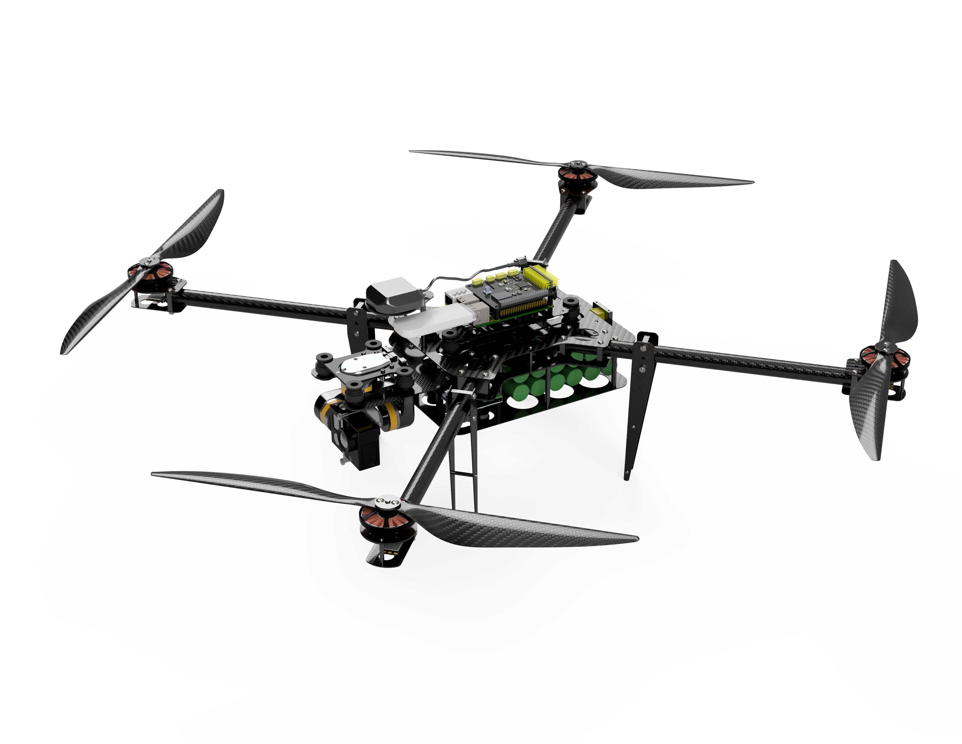 DIY автономный дрон с управлением через интернет - 14