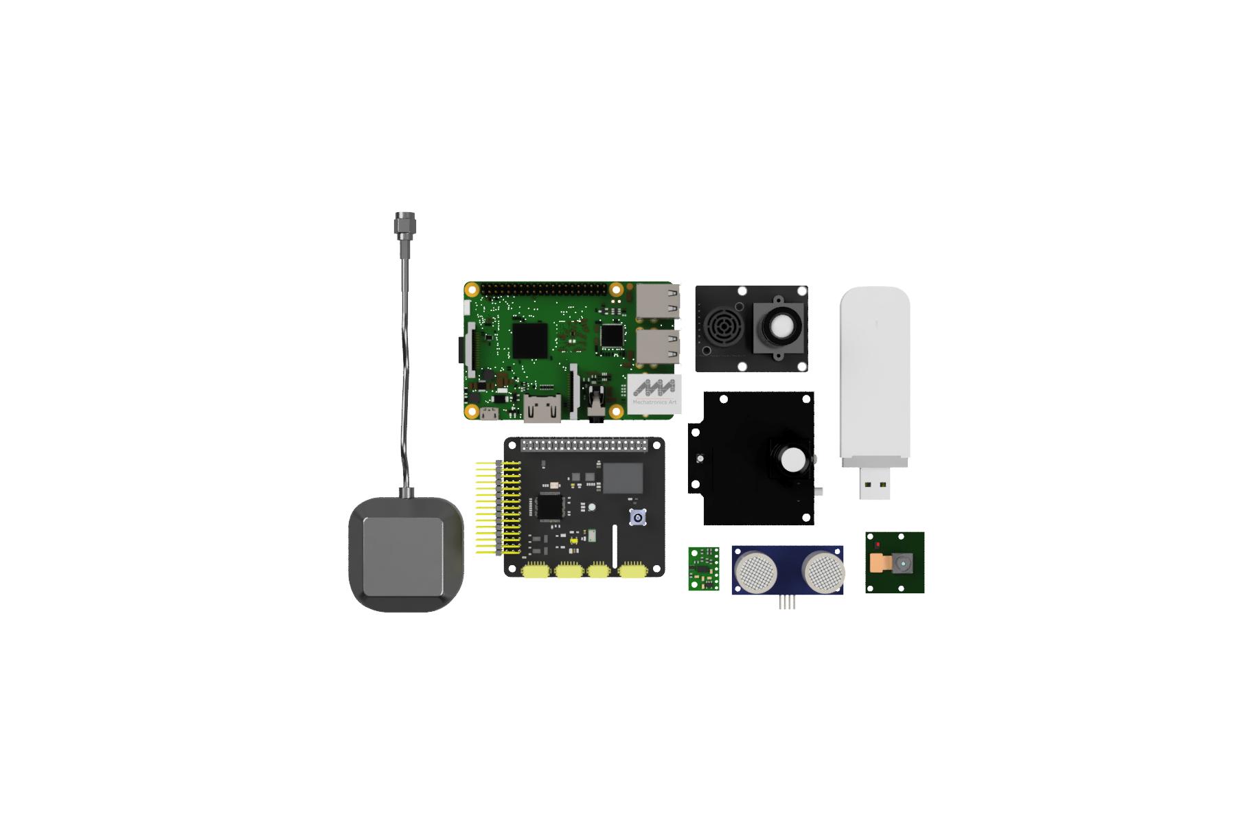 DIY автономный дрон с управлением через интернет - 8