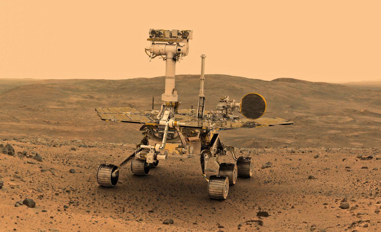 Opportunity «уснул» из-за песчаной бури на Марсе. Пока неясно, сможет ли ровер снова работать - 1