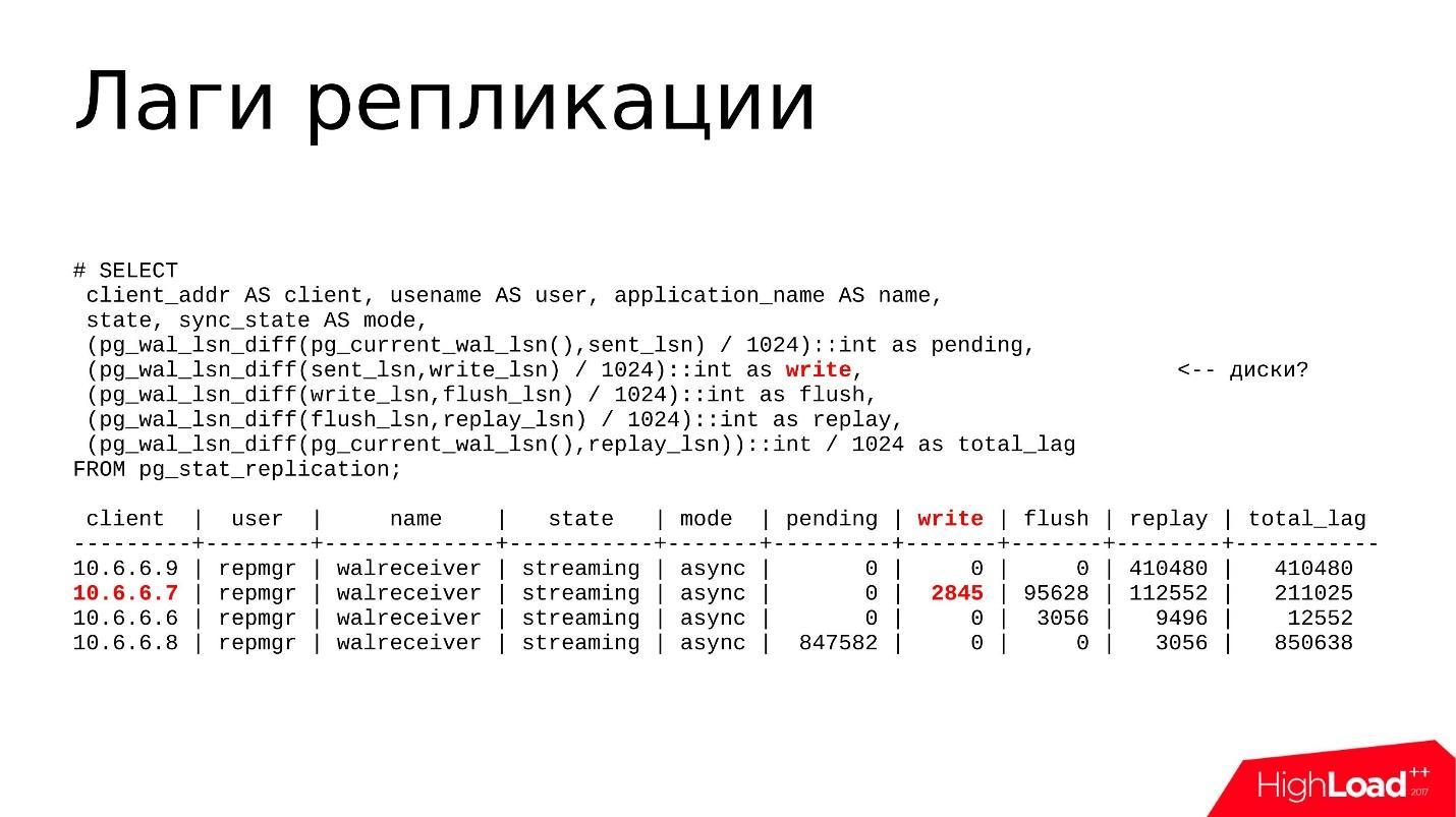 Отладка и устранение проблем в PostgreSQL Streaming Replication - 5