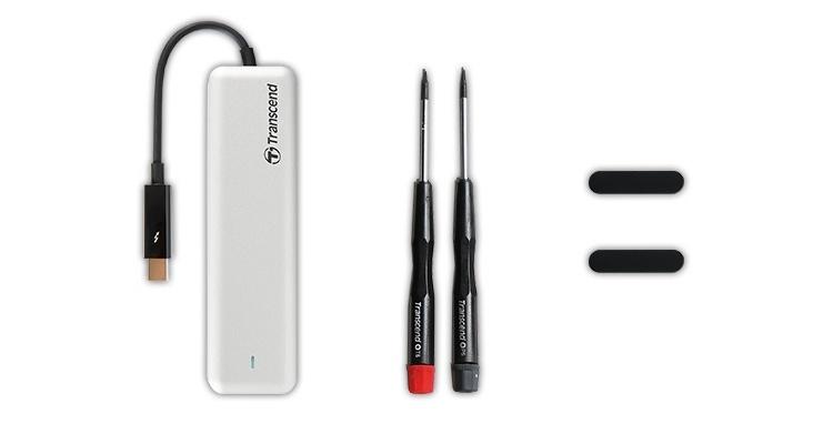 SSD-накопители Transcend JetDrive 855/850 рассчитаны на компьютеры Apple