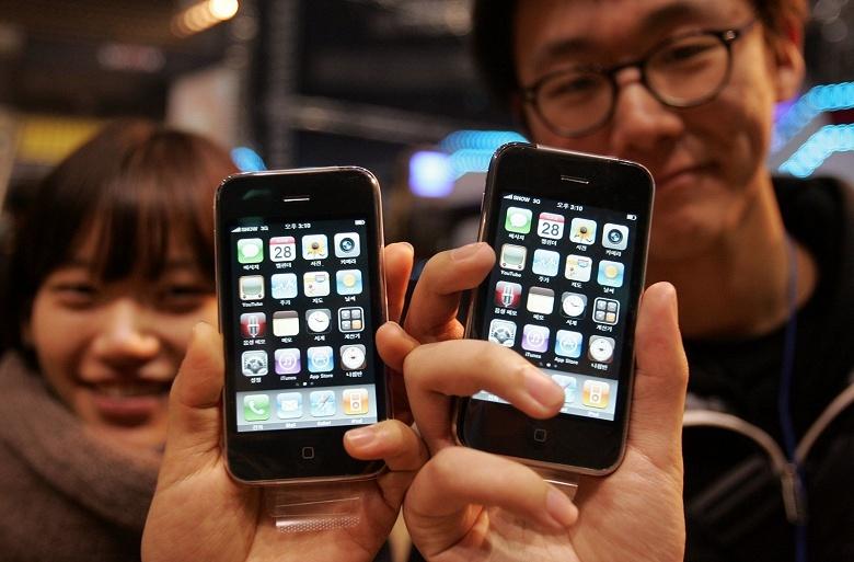 В Южной Корее в продаже снова появились смартфоны Apple iPhone 3GS