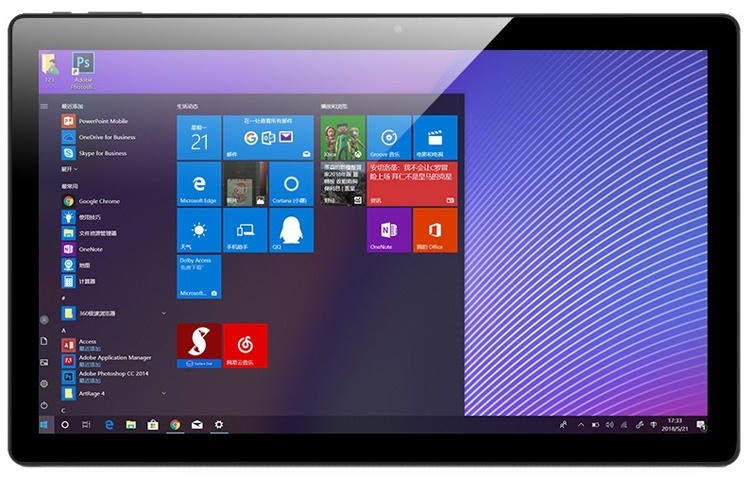 AlldoCube KNote5: гибридный планшет с чипом Intel Gemini Lake и ОС Windows 10