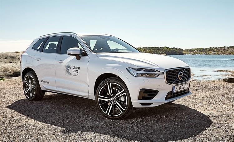 Volvo начнёт активно использовать детали из переработанного пластика