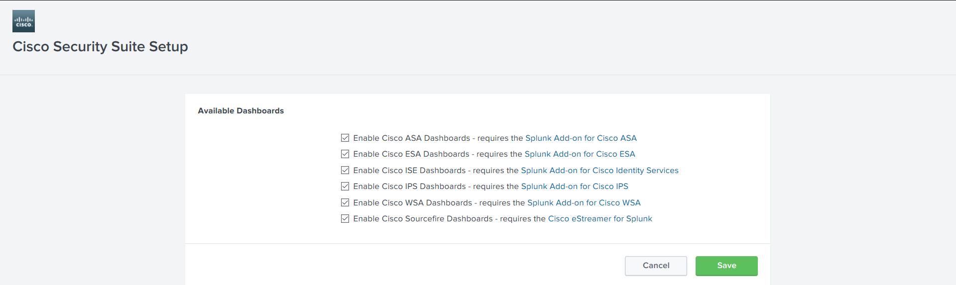 Анализ логов Cisco устройств c помощью Splunk Cisco Security Suite - 2