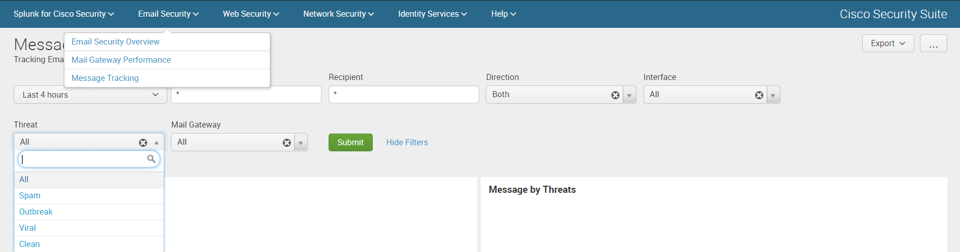 Анализ логов Cisco устройств c помощью Splunk Cisco Security Suite - 5
