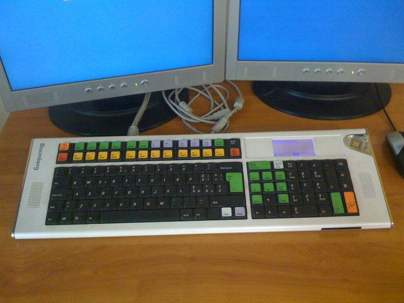 Как менялась самая популярная программируемая клавиатура для трейдинга: история Bloomberg keyboard - 1
