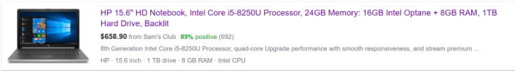 Маркетологи пытаются выставить кеш Intel Optane за подсистему ОЗУ