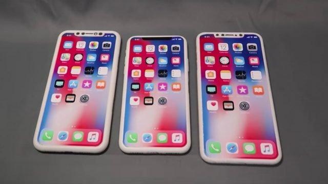 Видео дня: макеты смартфонов Apple нового поколения