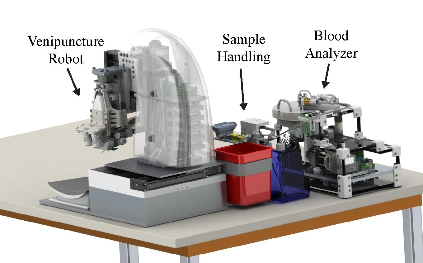Роботизированная система ускоряет забор крови и проведение анализов - 1