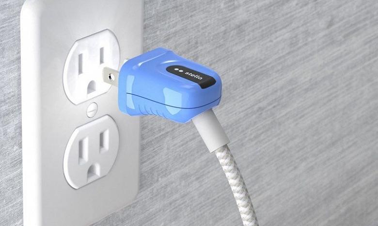 Зарядный кабель Stella для MacBook и ПК подсвечивает розетку