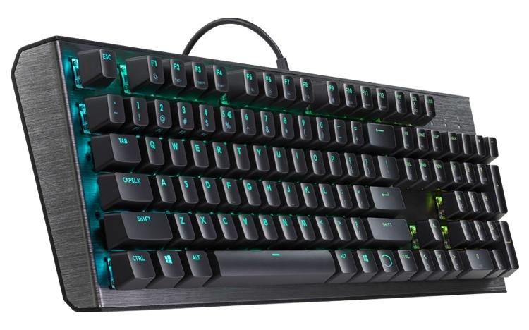Cooler Master CK550: механическая клавиатура с индивидуальной подсветкой кнопок
