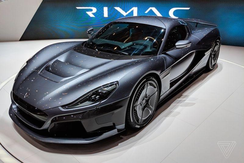 Porsche приобрела 10 % Rimac для своих спортивных электромобилей