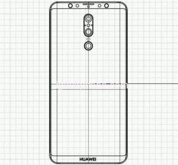 Фото дня: смартфон Huawei Mate 20 с экраном, как у Samsung