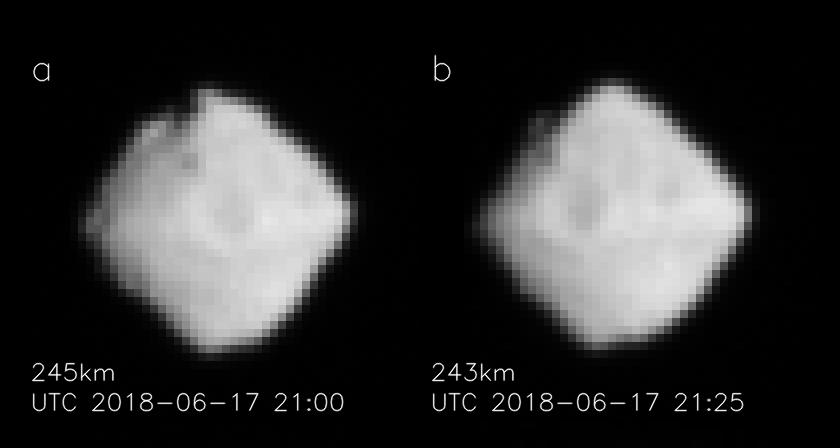 Станция «Хаябуса-2» сделала новые снимки астероида Рюгу