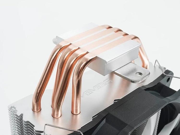 Reeven E12 RGB: универсальный CPU-кулер с подсветкой