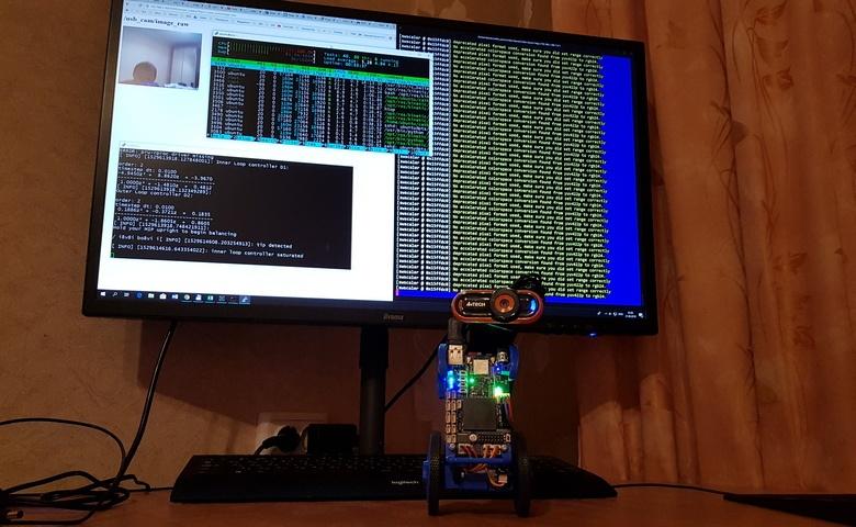 Как использовать USB-камеру с ROS на Raspberry Pi или BeagleBone Blue — для потокового стрима видео на большой компьютер - 1