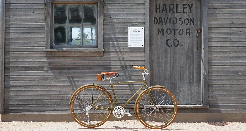 Под маркой Harley-Davidson выпустят велосипеды