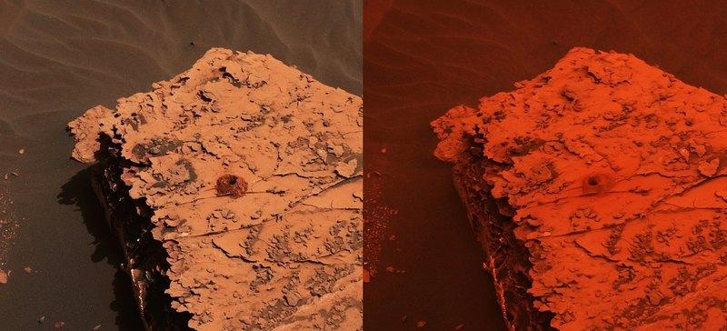 Пылевая буря на Марсе приобрела глобальный масштаб