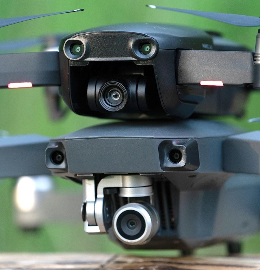 Сравнение квадрокоптеров DJI Mavic Pro и Mavic Air - 6