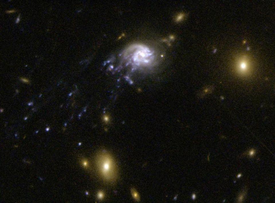 5 способов создать галактику без тёмной материи - 4