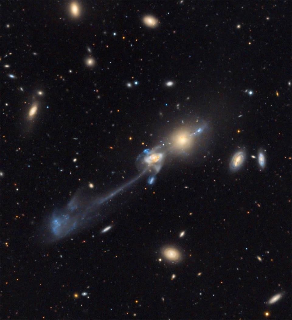 5 способов создать галактику без тёмной материи - 5