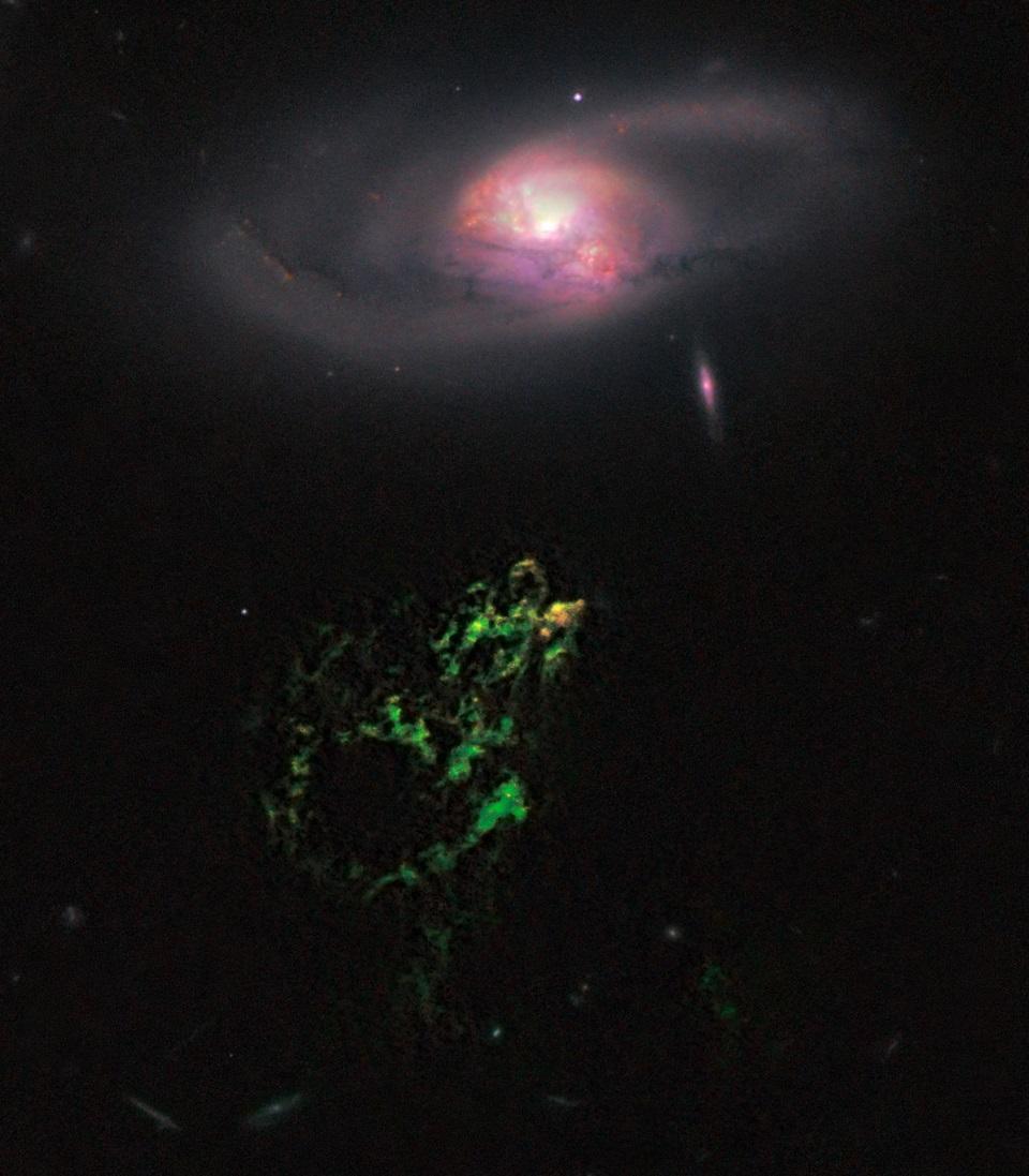 5 способов создать галактику без тёмной материи - 7