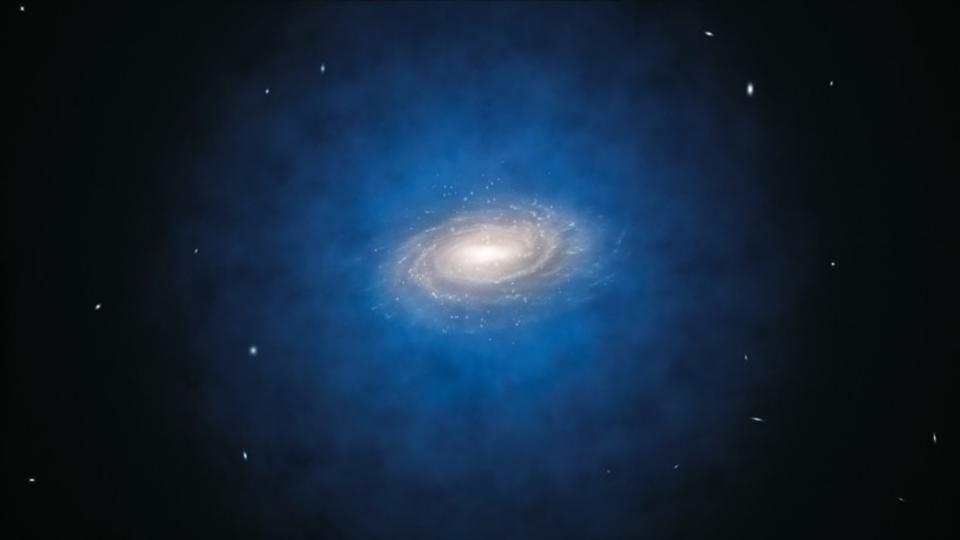 5 способов создать галактику без тёмной материи - 9