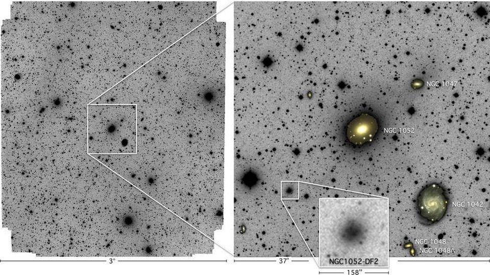 5 способов создать галактику без тёмной материи - 1