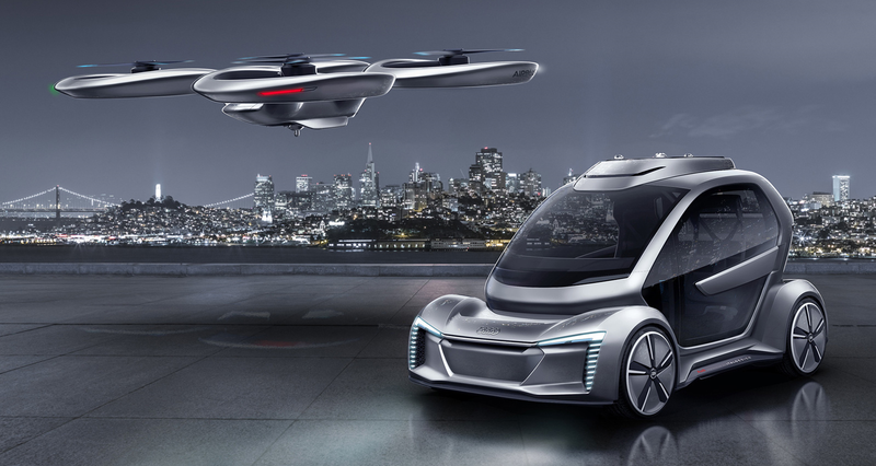Германия одобрила испытания летающего такси в одном из городов