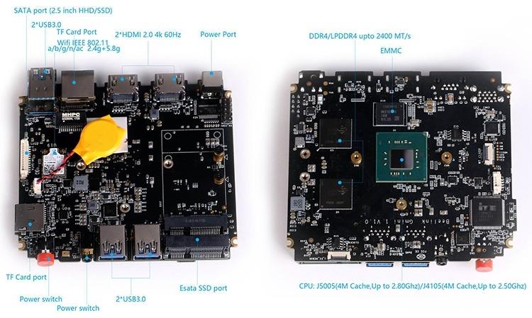 Мини-ПК Beelink Gemini X построен вокруг SoC Pentium Silver J5005