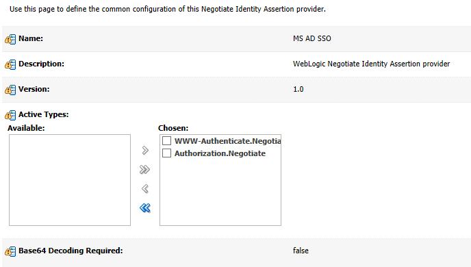 Прозрачная авторизация для приложения на Oracle Weblogic Server - 2