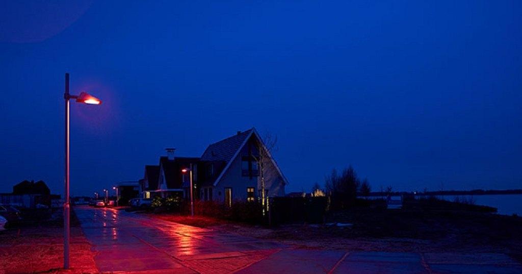 В Голландии появился город красных фонарей