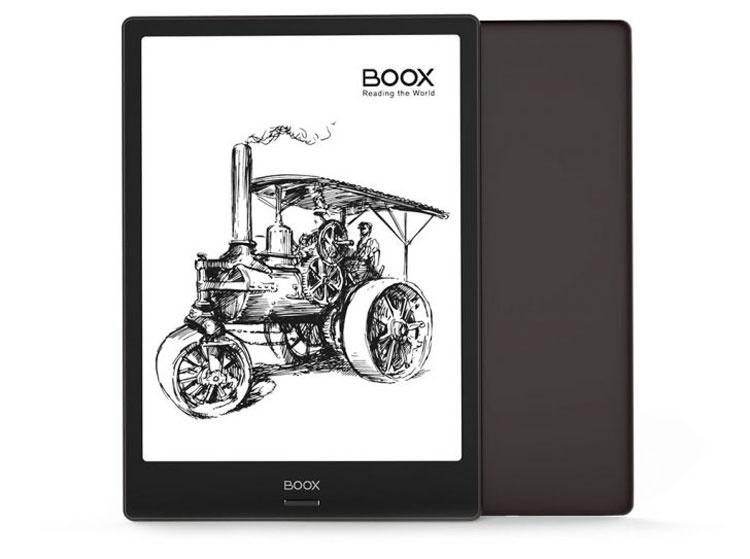 ONYX BOOX Note: 4 ядра, Android 6.0, перо WACOM и 10,3-дюймовый пластиковый экран E Ink