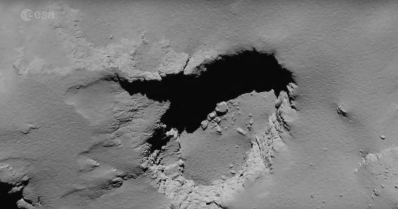 Что можно увидеть при столкновении с кометой?