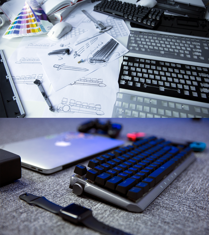 На выпуск клавиатуры DREVO BladeMaster собрано более 420 000 долларов