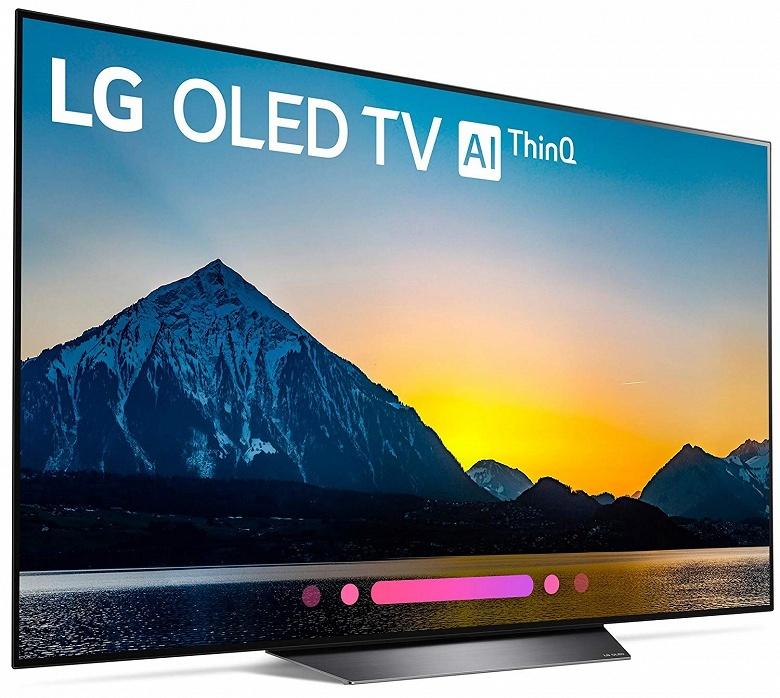Начались продажи телевизоров LG OLEDB8 начального уровня