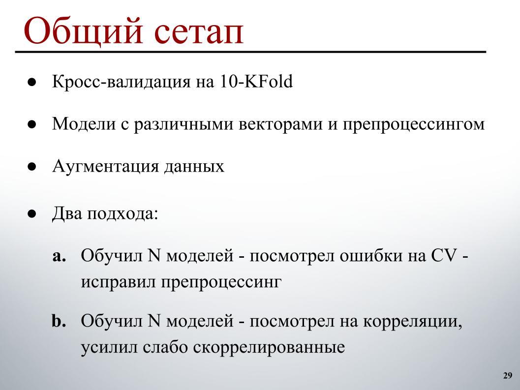 Выявление и классификация токсичных комментариев. Лекция в Яндексе - 23