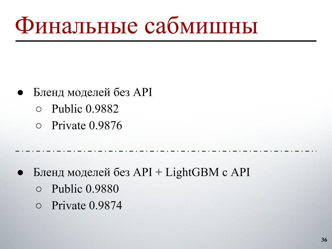Выявление и классификация токсичных комментариев. Лекция в Яндексе - 30