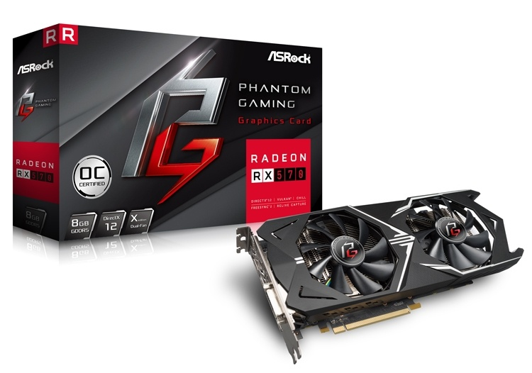 Видеокарты ASRock Phantom Gaming выйдут в Европе 1 июля