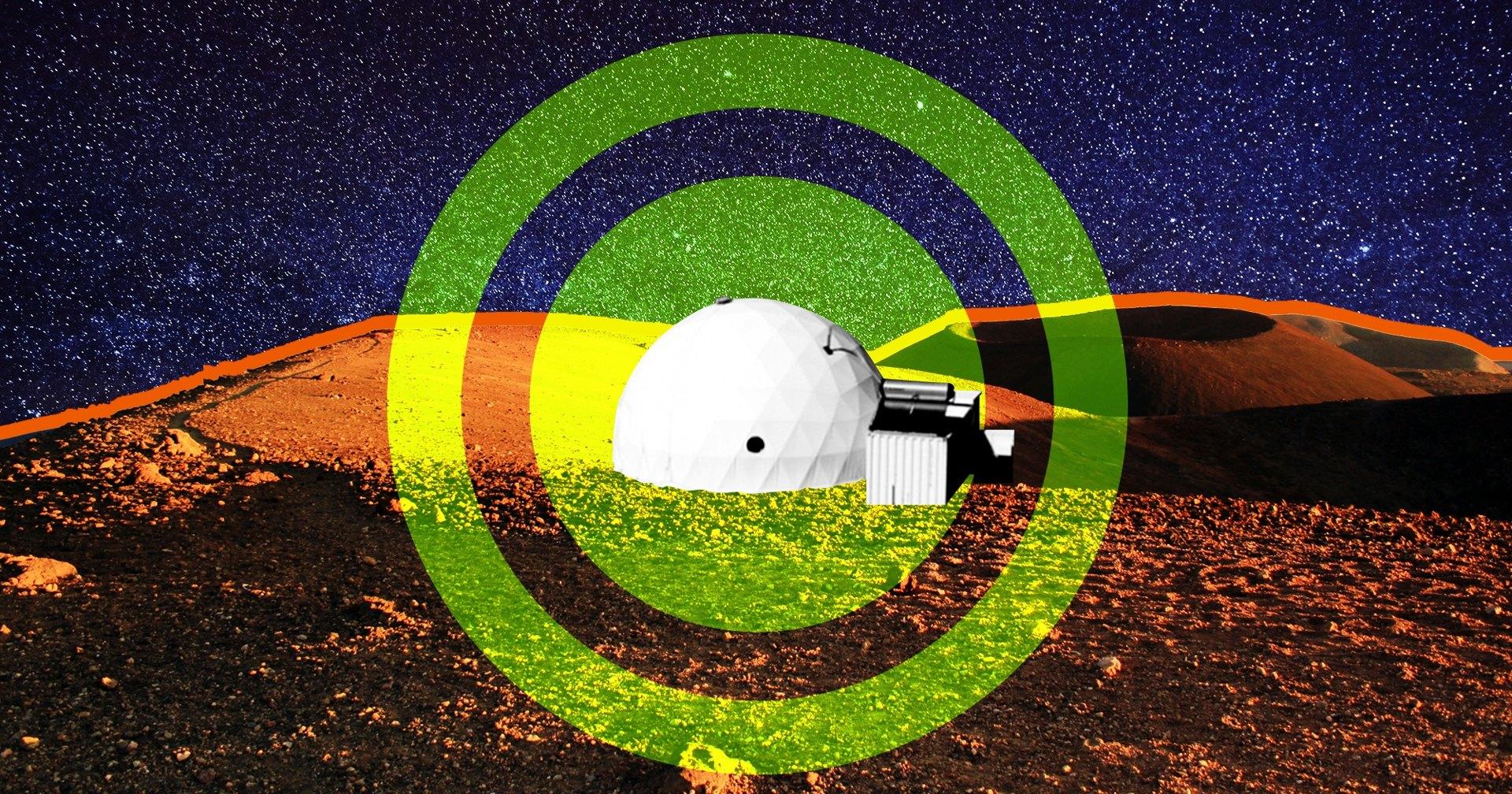 Что будет, если у астронавтов в марсианской симуляции начнутся проблемы?