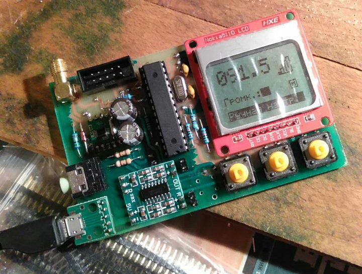 Радиоконструктор: FM радио на базе Atmega328-P и RDA5807M - 7