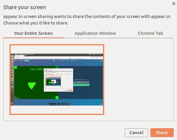 Скриншаринг в Chrome – готовимся к getDisplayMedia - 2