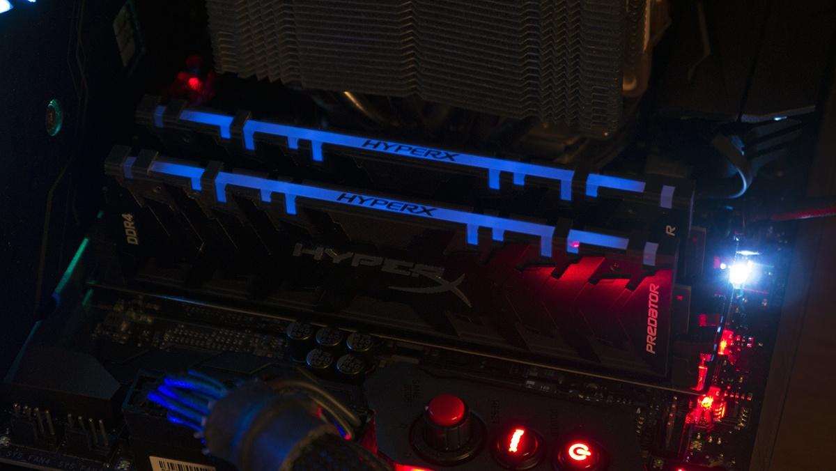 Во-первых, это быстро. Но и очень красиво! Тестирование оперативной памяти HyperX Predator RGB - 10