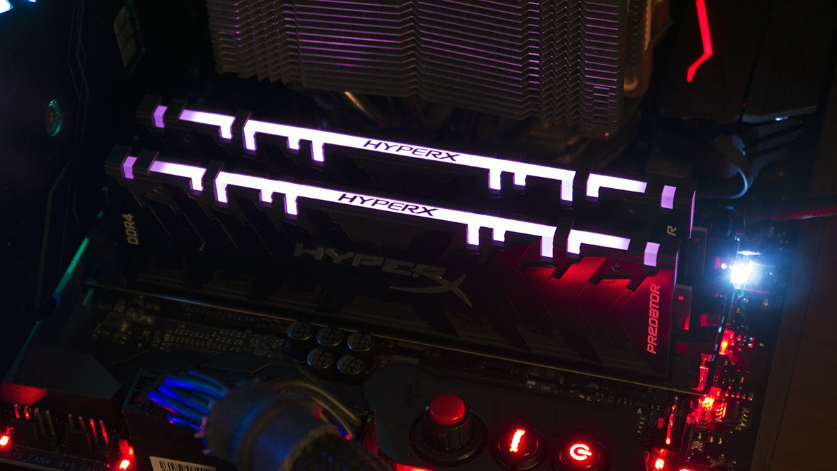 Во-первых, это быстро. Но и очень красиво! Тестирование оперативной памяти HyperX Predator RGB - 9
