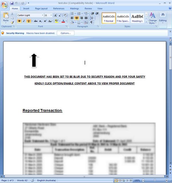 Безопасность Microsoft Office: макросы VBA - 10