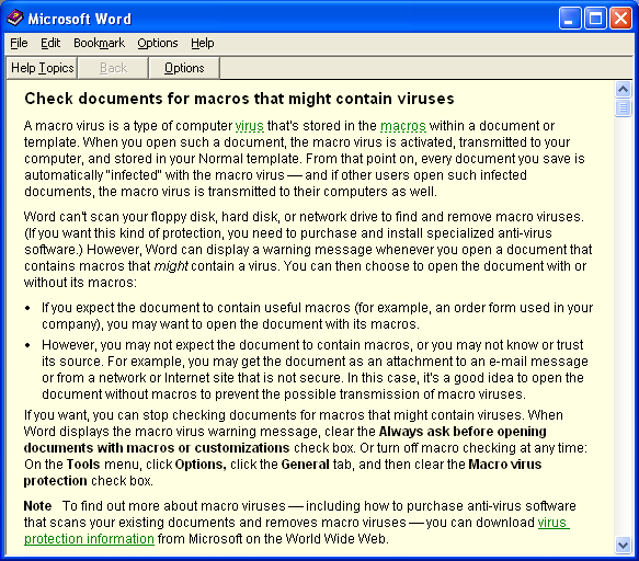 Безопасность Microsoft Office: макросы VBA - 16