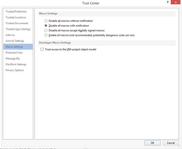 Безопасность Microsoft Office: макросы VBA - 8